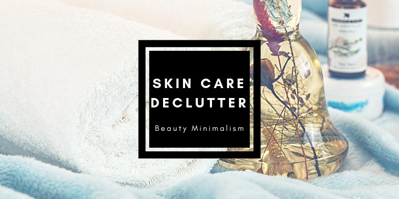 Skincare Declutter