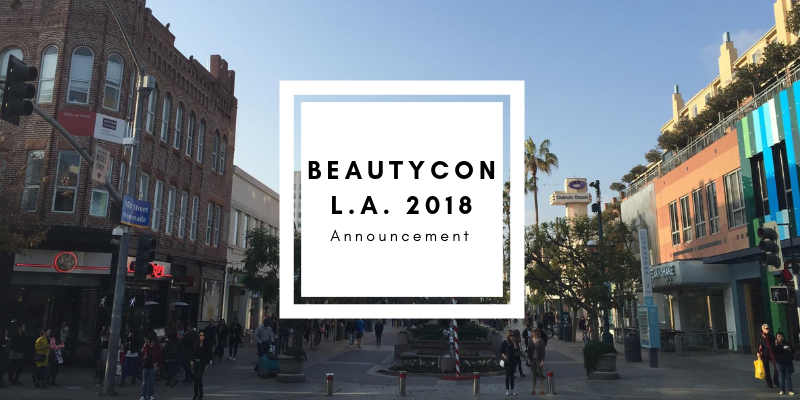 Beautycon L.A. 2018 Announcement