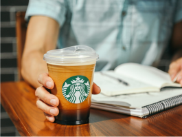 New Starbucks Cup - No Straws