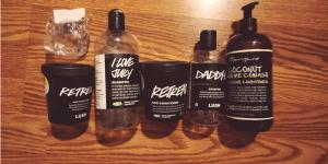 LUSH Hair Care Empties