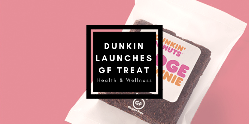 Dunkin' Donuts Launches Gluten-Free Brownie Treat