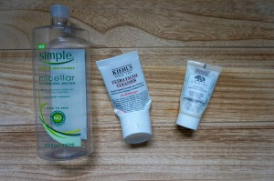 Empty Facial Cleansers