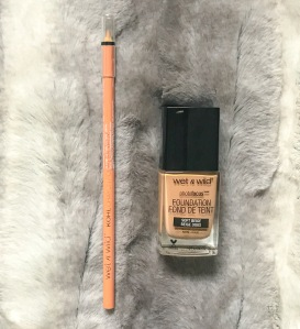 (L:R): Wet N Wild Kohl Crayon & Photo Focus Foundation