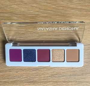 Inside of the Natasha Denona Mini Lila Palette