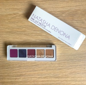 Natasha Denona Mini Lila Palette Packaging