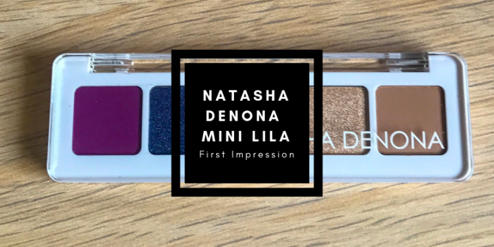 Natasha Denona Mini Lila Eyeshadow Palette First Impression