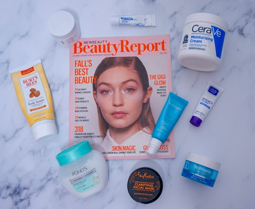 Best Drug Store Skin Care 2018