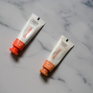 Glossier Cloud Paint in Dawn and Dusk (L:R)