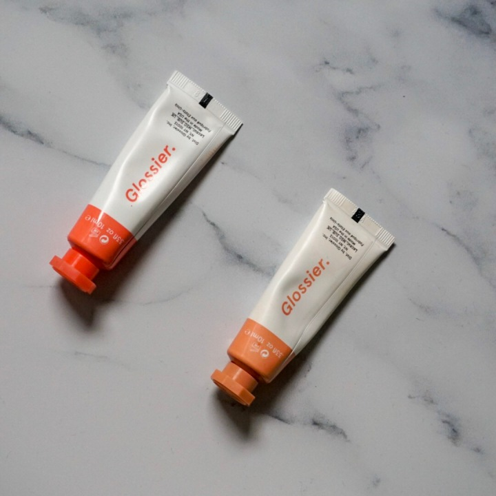 L-R: Glossier Cloud Paints in Dawn and Dusk