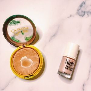 Physicians Formula Butter Bronzer & Benefit High Beam