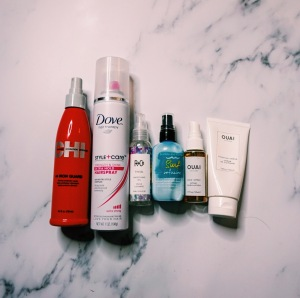 2018 End of Year Declutter - Hair Care