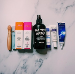 End of Year Declutter - Skin Care