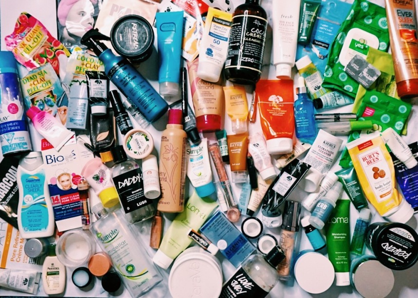 2018 End of Year Beauty Empties