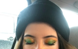 ColourPop x ILuvSarahii Through My Eyes Eyeshadow Palette - Emerald Green Look