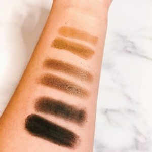 Soft & Sultry Funday Eyeshadow Swatches - Brush & Finger