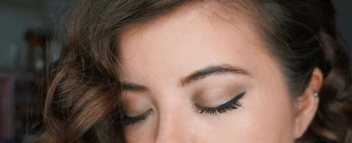 Milani - Soft & Sultry Eyeshadow Palette - Look #1 (Closed Eyes)