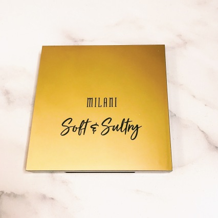 Milani - Soft & Sultry 12-Pan Eyeshadow Packaging (front)