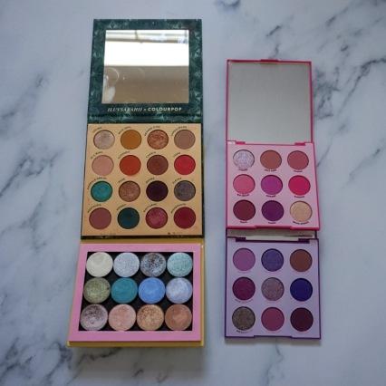 ColourPop Pressed Eyeshadow Palettes