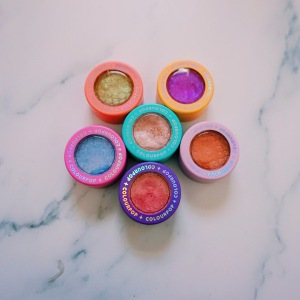 ColourPop's Limited Edition Double Rainbow Packaging