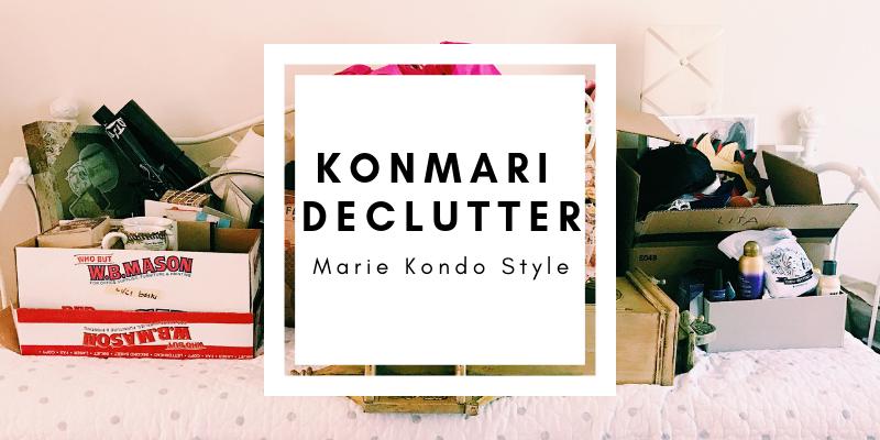 Marie Kondo Style Declutter || Minimalism