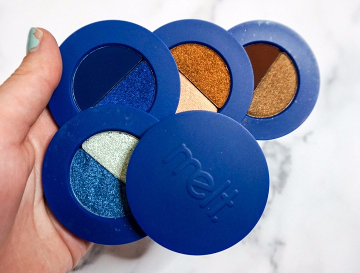 Melt Cosmetics Blueprint Eyeshadow Stack Review