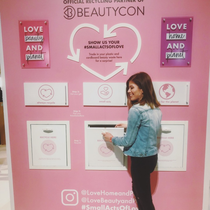 Beautycon NYC 2019 x Love Beauty & Planet