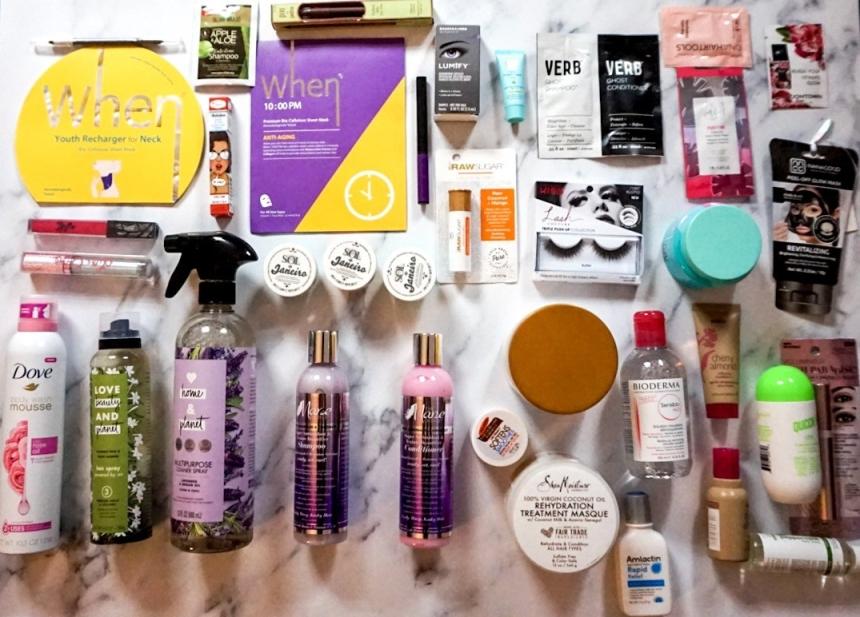Beautycon NYC 2019 Haul   Hauler Bag