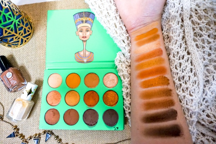 Juvia's Place Nubian Eyeshadow Palette Review Swatches