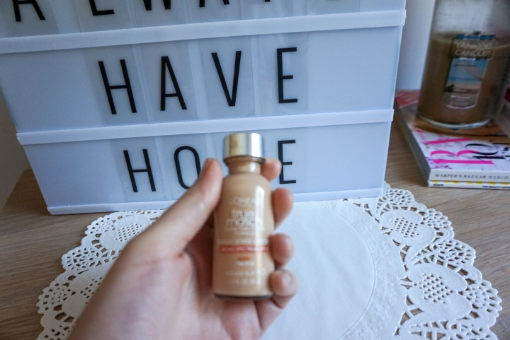 L'OREAL TrueMatch Foundation Review - N3 Natural Buff
