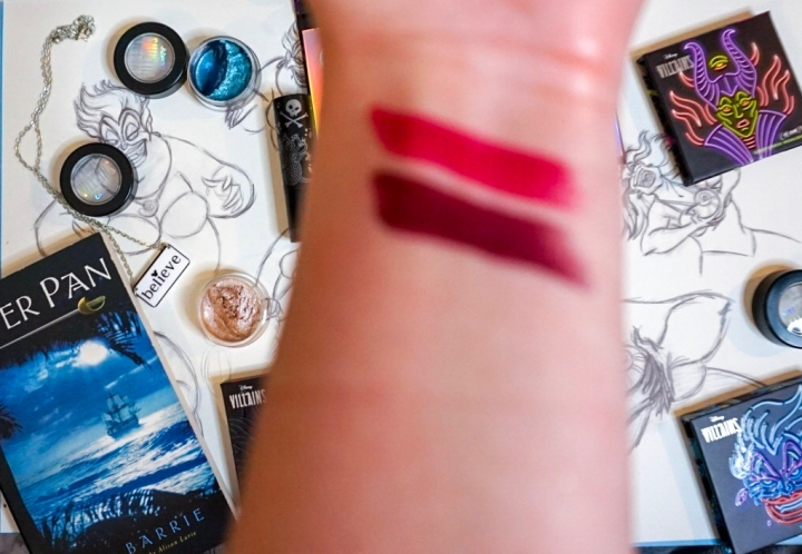 ColourPop x Disney Villains Collection Review :: Lux Lipsticks in Maleficent & Ursula