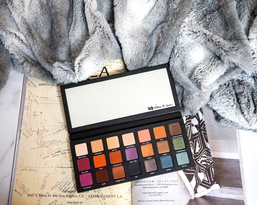 Sephora VIB Sale Haul - April 2019 - Urban Decay Born to Run Eyeshadow Palette