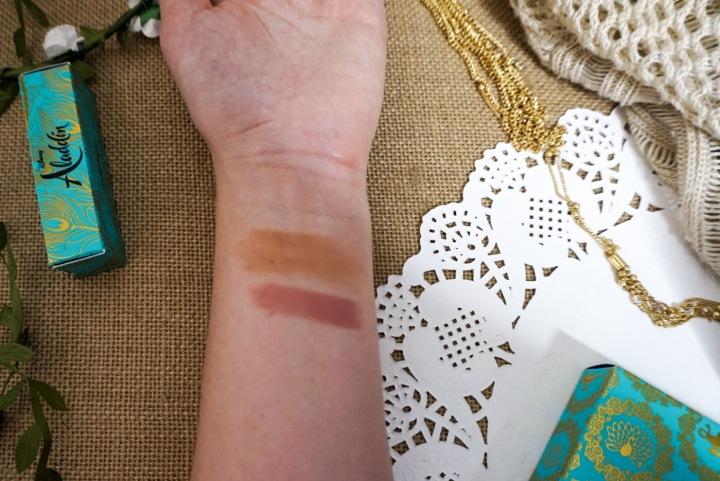 MAC x Aladdin Collection Review + Demo | Bronzer & Lipstick Swatches