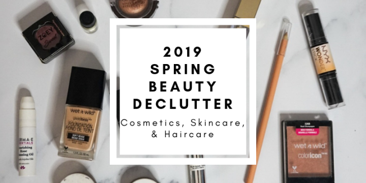 Spring Beauty Declutter
