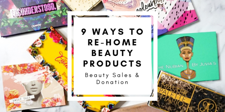 9 Ways to Re-Home Beauty Products