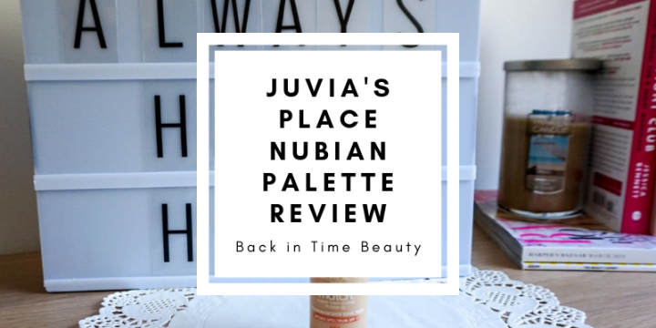 Juvia's Place Nubian Eyeshadow Palette Review