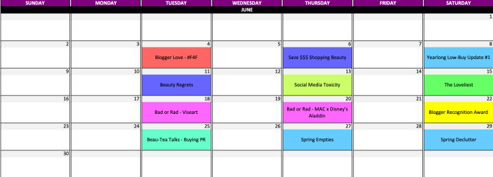 Time Management Tips for Bloggers || Create an Excel Content Calendar