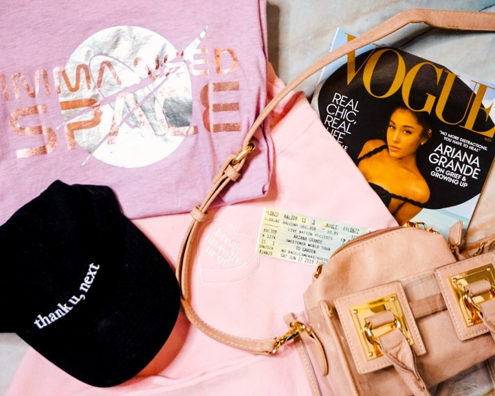 The Loveliest - Summer 2019 Beauty, Fashion, Lifestyle Favorites | Ariana Grande Merchandise & MMS Clear Bag